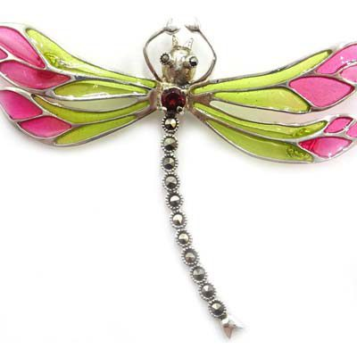 Sell-Your-Plique-à-jour-Brooches